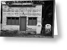 Country Corner Greeting Card by David Lee Thompson