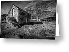 Country Cottage V2 Greeting Card by Adrian Evans