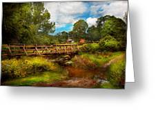 Country - Country Living Greeting Card by Mike Savad
