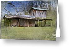 Country Life Greeting Card by Betty LaRue