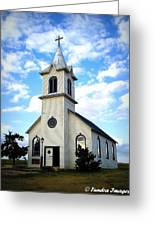 Country Praise Greeting Card by Christopher Fridley