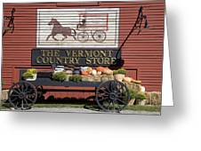 Country Store Greeting Card by Jim  Wallace