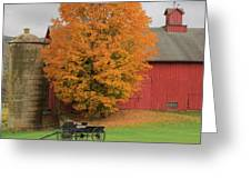 Country Wagon Greeting Card by Bill Wakeley
