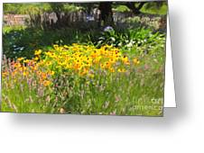 Countryside Cottage Garden 5d24560 Greeting Card by Wingsdomain Art and Photography