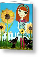 Courage 2 Greeting Card by Laura Bell