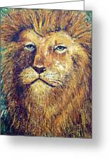 Courage Greeting Card by Doug Kreuger