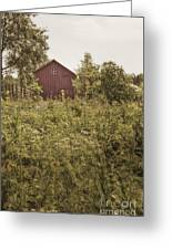 Covered Barn Greeting Card by Margie Hurwich