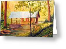 Covered Bridge Boone Nc Greeting Card by Julia Rietz