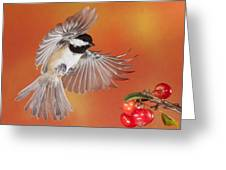 Crabapple Crabapple Before You Fall Who Is The Fairest Of Them All Greeting Card by Gerry Sibell