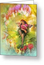 Cradle Your Heart Greeting Card by Aimee Stewart