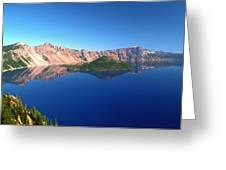 Crater Lake Greeting Card by Brian Harig