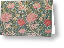 Cray Greeting Card by William Morris