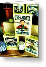 Creamoata - Cream  O' The Oat Greeting Card by Steve Taylor