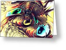 Creature Greeting Card by Anastasiya Malakhova