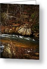 Creek Greeting Card by Mario Celzner