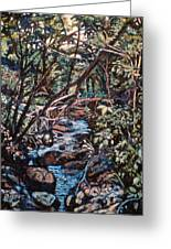 Creek Near Smart View Greeting Card by Kendall Kessler