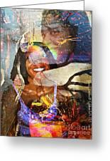 Creolization - Descendants Surviving Tribalism Greeting Card by Fania Simon