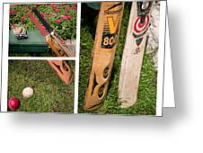 Cricket Series Greeting Card by Tom Gari Gallery-Three-Photography