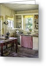 Cross Creek Country Kitchen Greeting Card by Lynn Palmer