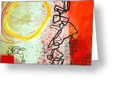 Crossroads 33 Greeting Card by Jane Davies