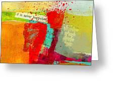 Crossroads 58 Greeting Card by Jane Davies