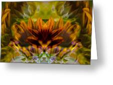 Crowned Greeting Card by Omaste Witkowski