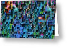 Cubed 3 Greeting Card by Jack Zulli