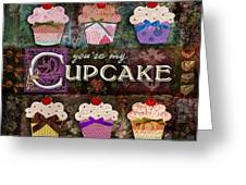 Cupcake Greeting Card by Evie Cook