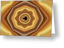 Cushioned Mandelbrot No. 2 Greeting Card by Mark Eggleston