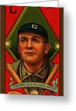Cy Young 1911 Baseball Card Greeting Card by Movie Poster Prints