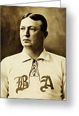 Cy Young Greeting Card by Benjamin Yeager