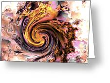 Cyclone of color Greeting Card by Claude McCoy