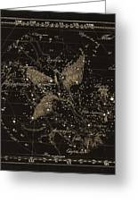 Cygnus Constellations, 1829 Greeting Card by Science Photo Library