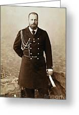 Czar Alexander IIi  Greeting Card by Granger