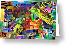 daas 1h Greeting Card by David Baruch Wolk