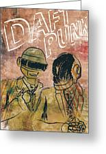 Daft Punk  Greeting Card by Jackson