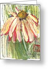 Daisy Girl Greeting Card by Sherry Harradence