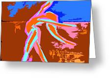 Dance Of Joy 2 Greeting Card by Patrick J Murphy