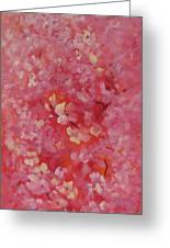 Dance Of The Cherry Blossoms Greeting Card by Karin  Leonard