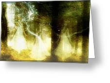 Dance of the fairies Greeting Card by Gun Legler