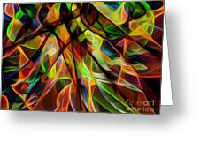 Dance Of The Tainas Greeting Card by Perxey