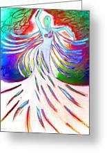 Dancer 4 Greeting Card by Anita Lewis