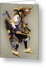 Dancing For The Spirit Greeting Card by Bob Christopher