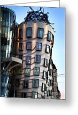 Dancing House In Prague Greeting Card by Jelena Jovanovic