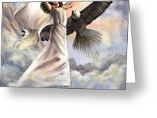 Dancing In Glory Greeting Card by Tamer and Cindy Elsharouni