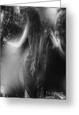 Dancing In The Moonlight... Greeting Card by Nina Stavlund