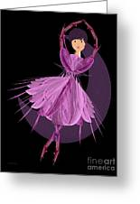 Dancing With The Moon A Greeting Card by Andee Design