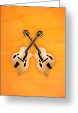 D'aquisto Acoustic Custom Greeting Card by Doron Mafdoos