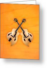 D'aquisto Acoustic Custom Greeting Card by Doron Mafdoos