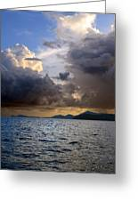 Dark And Stormy Greeting Card by    Michael Glenn
